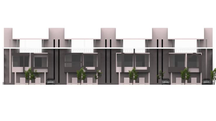 家的超能力 (The villa):   by Glocal Architecture Office (G.A.O) 吳宗憲建築師事務所/安藤國際室內裝修工程有限公司