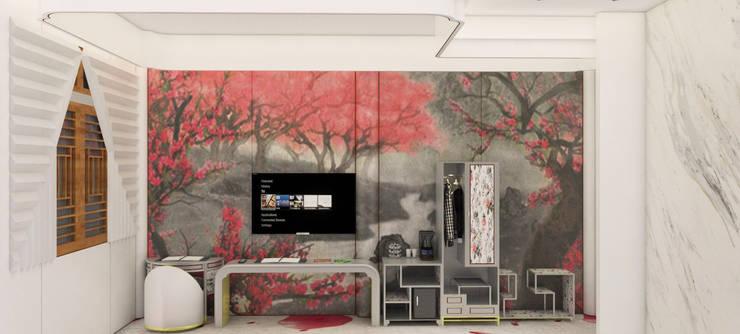 Hoteles de estilo  de Glocal Architecture Office (G.A.O) 吳宗憲建築師事務所/安藤國際室內裝修工程有限公司