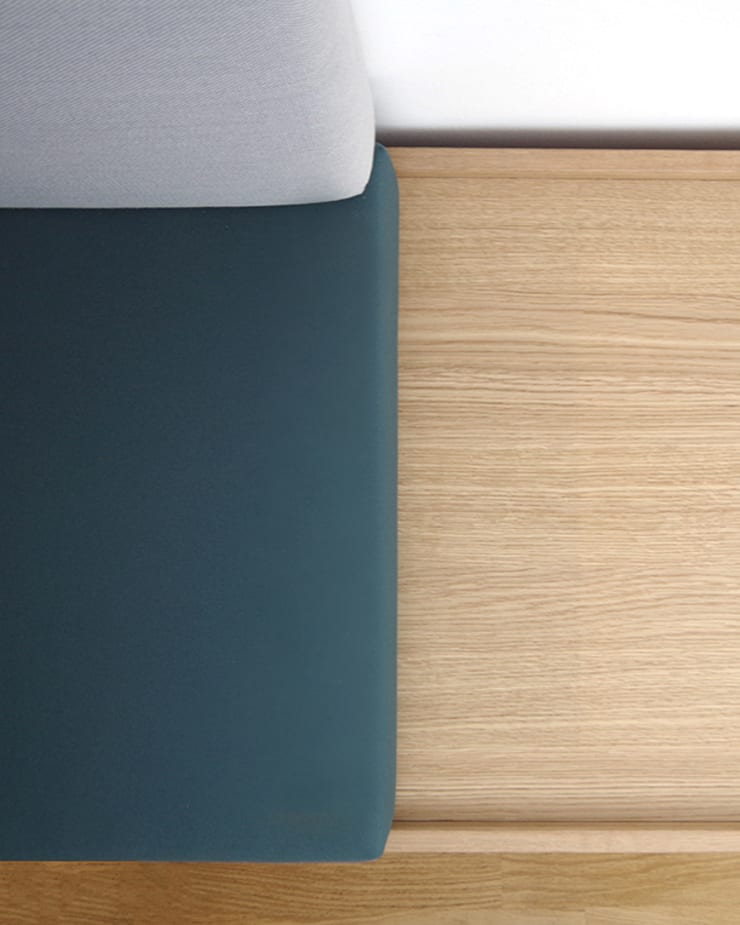 Detail Lounge Corner by INpuls Minimalist Wood Wood effect