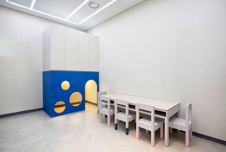 위례 일로 키즈 인스티튜트  ILO KIDS INSTITUTE  : 디자인마또의  상업 공간,