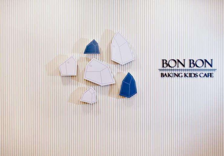 Bon Bon Baking Kids Cafe: 디자인마또의  상업 공간