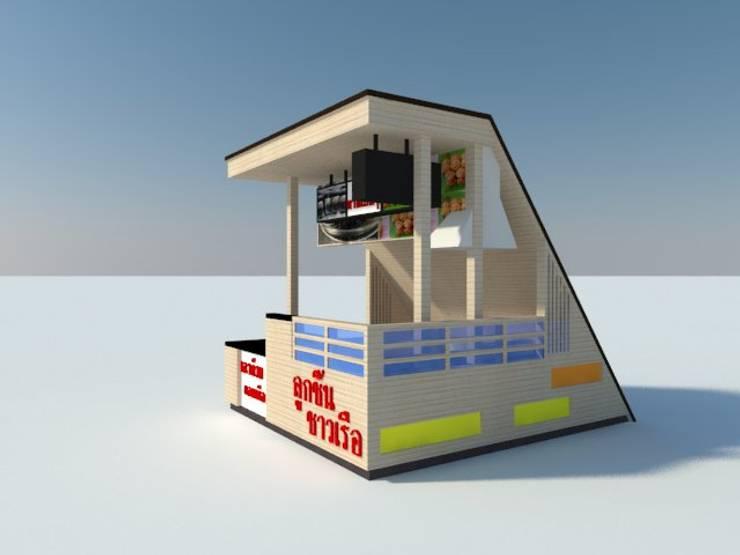 รีโนเวทร้าน ภายในห้างแหลมทอง บางแสน:   by KTC interior design