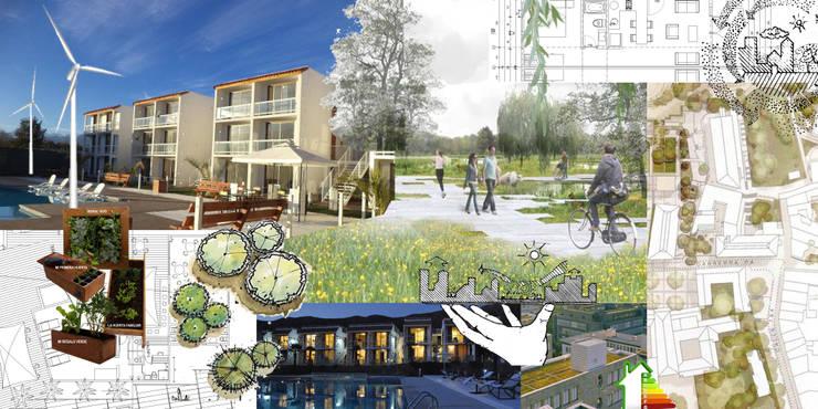 Condominio: Casas de estilo  por Arquitectura Consciente