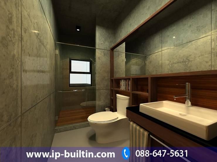 ตกแต่งภายในห้องน้ำ:   by IP BUILT IN