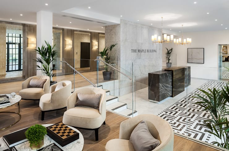 The Maple Building, London:  Commercial Spaces by Clement Windows