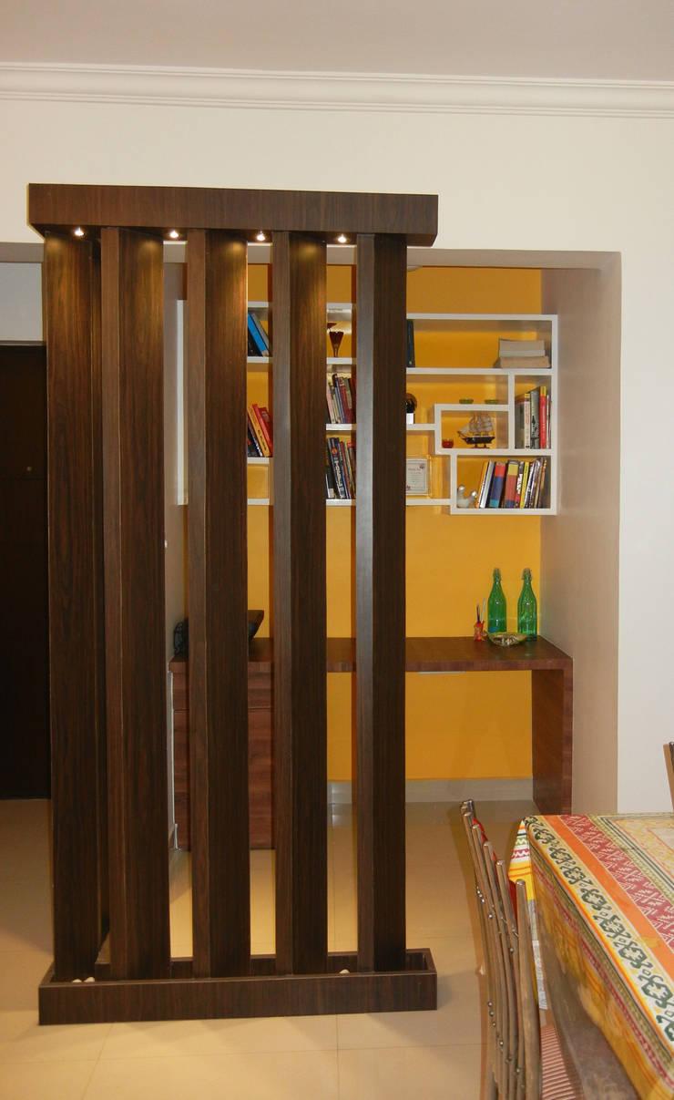 Study : modern  by Interiors By Suniti,Modern