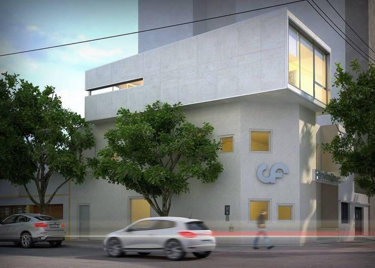 Ampliación Colegio de Fonoaudiologos:  de estilo  por Arquidigital,