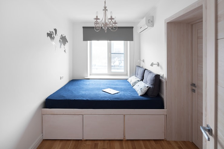 Тимирязевская: Спальни в . Автор – Flatsdesign