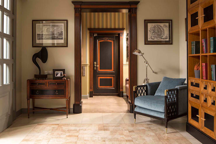 الممر والمدخل تنفيذ Dots&points interior design studio