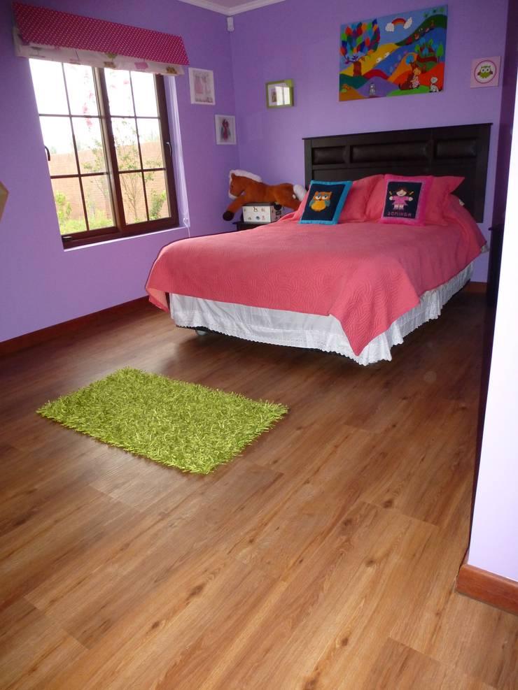 Proyecto Particular, Talca VII Región, Chile: Dormitorios infantiles de estilo rústico por Floover Latam