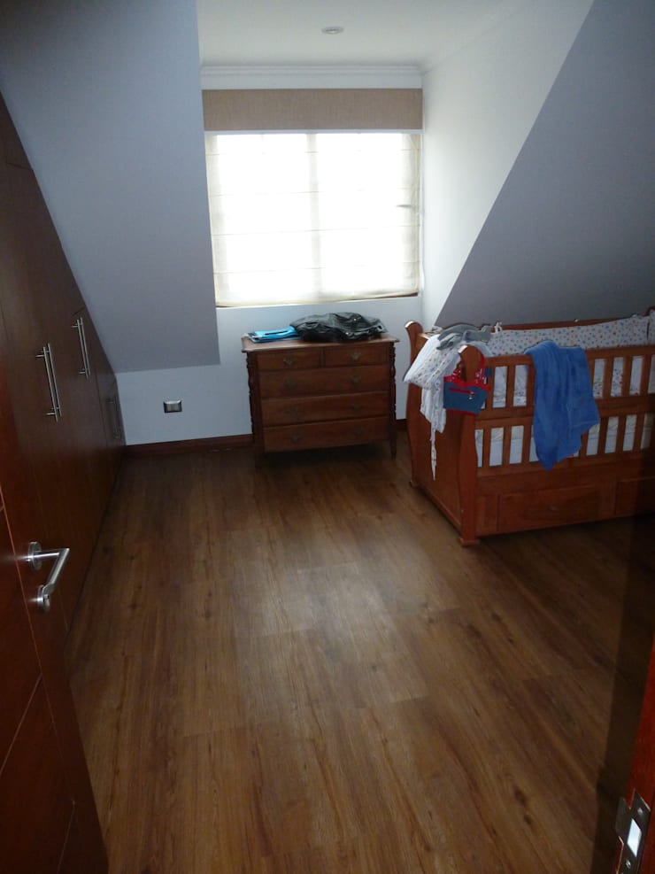 Proyecto Particular, Talca VII Región, Chile: Dormitorios infantiles de estilo  por Floover Latam
