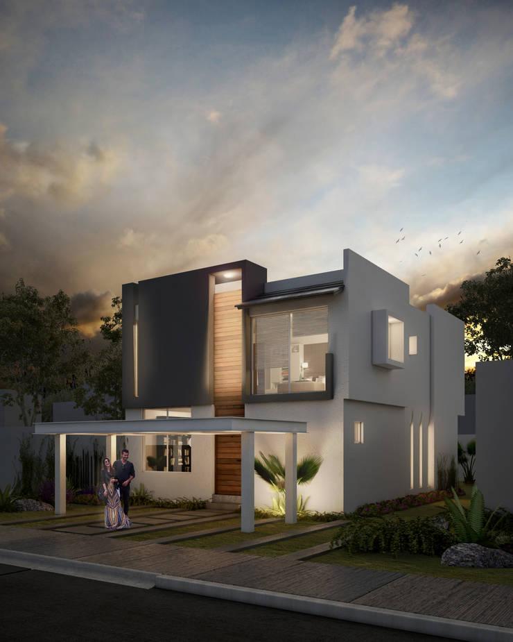 Houses by ARQMA Arquitectura & Diseño