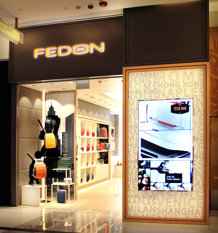 FEDON—K11 ART MALL :  Shopping Centres by M2A Design, Modern Wood Wood effect