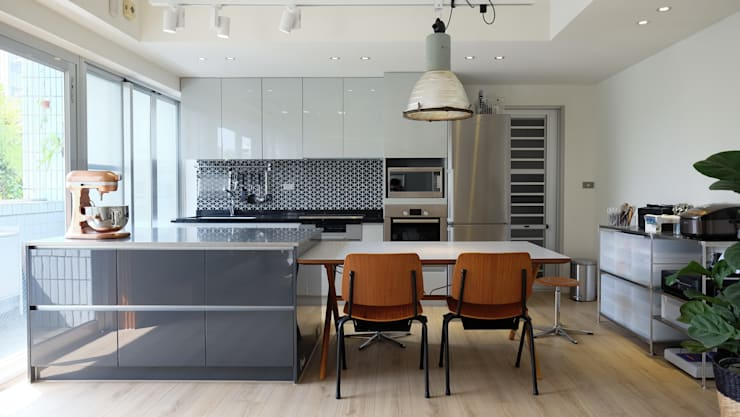 Projekty,  Kuchnia zaprojektowane przez RND Inc.