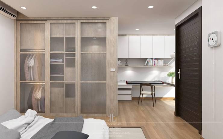 งานต่อเติมห้องนอนสำหรับลูกชายคนโต:   by เหนือ ดีไซน์ สตูดิโอ (North Design Studio)