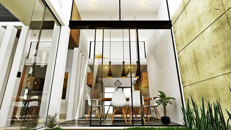 餐廳 by Alan Rangel Arquitecto