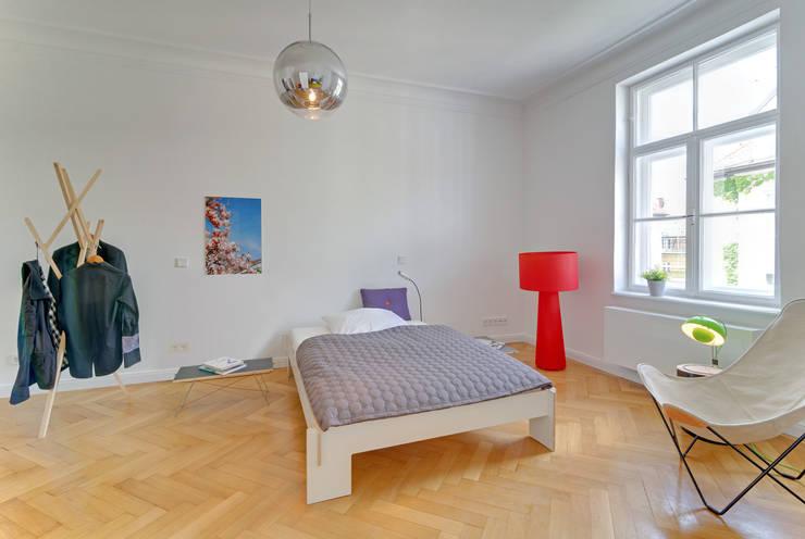 غرفة نوم تنفيذ arcs architekten