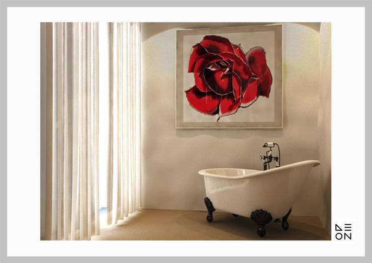 Baños de estilo  por Aeon Studio Firenze (architecture and design)