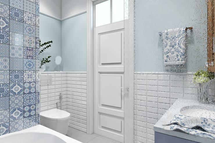 حمام تنفيذ Дарья Баранович Дизайн Интерьера