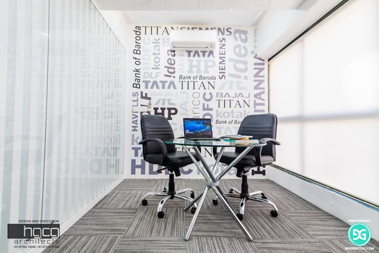 Office buildings by HGCG Architects