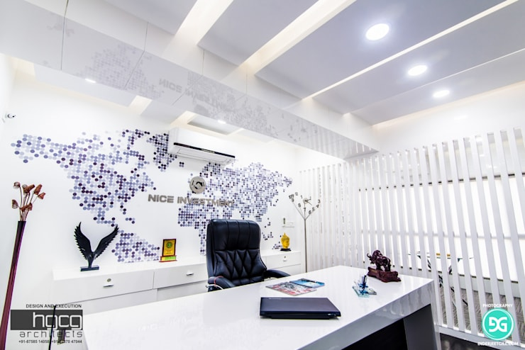 Offices & stores by HGCG Architects