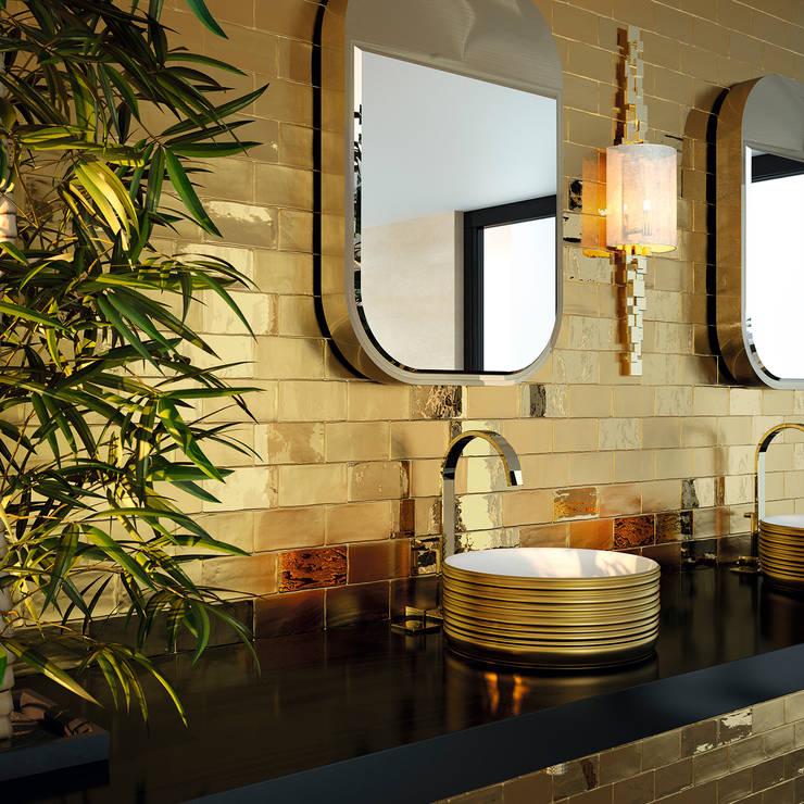 Projekty,  Łazienka zaprojektowane przez Aprifer