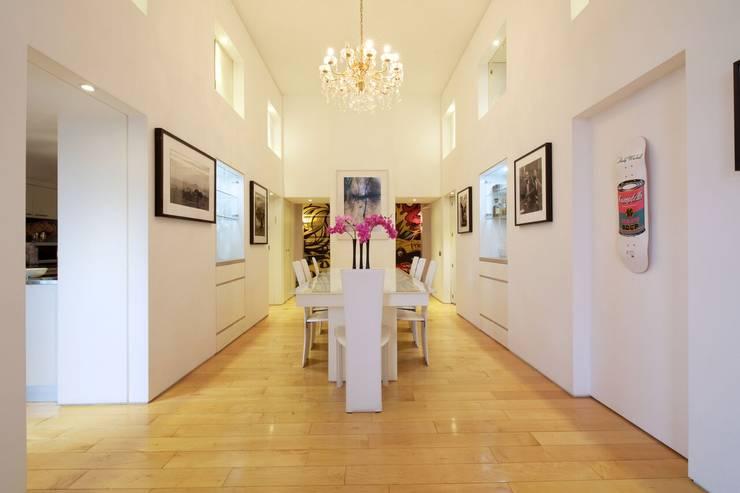 غرفة السفرة تنفيذ JKG Interiors