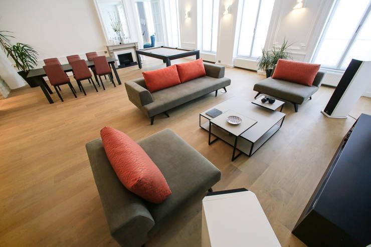 Agencement et aménagement d\'une pièce à vivre par Myriam Wozniak ...