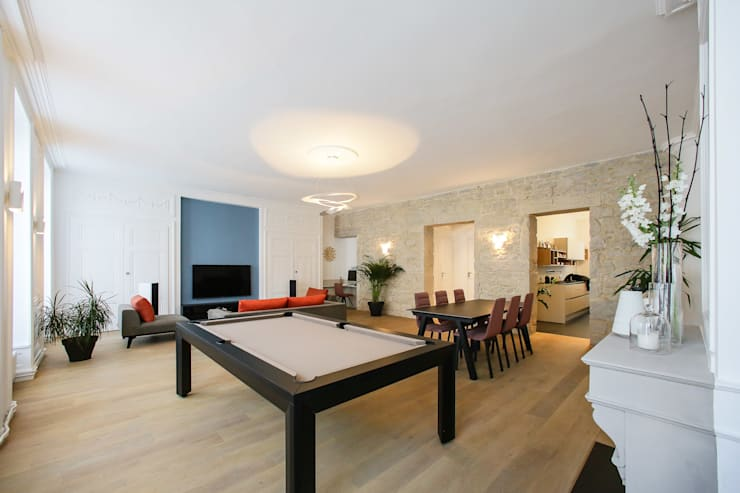 Agencement et aménagement d\'une pièce à vivre von Myriam Wozniak ...
