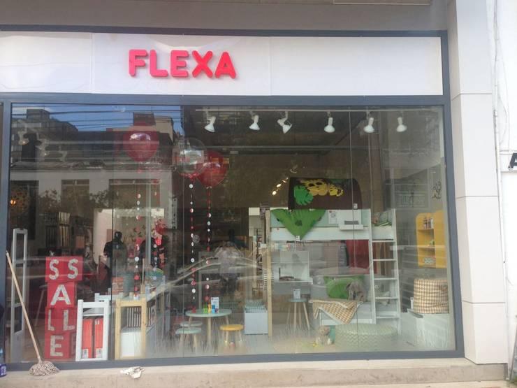 Diseño Interior local Flexa Colombia: Espacios comerciales de estilo  por SmartWork