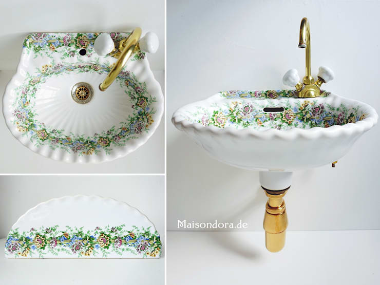 Antike Badezimmer - Dekorationen von Maisondora Vintage Living | homify