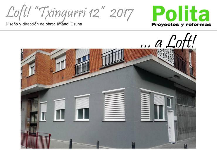Casas de estilo  por POLITA proyectos y reformas