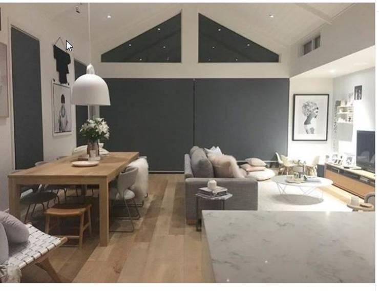 Cinza Design Studio: Livings de estilo  por Cinza Design  Studio