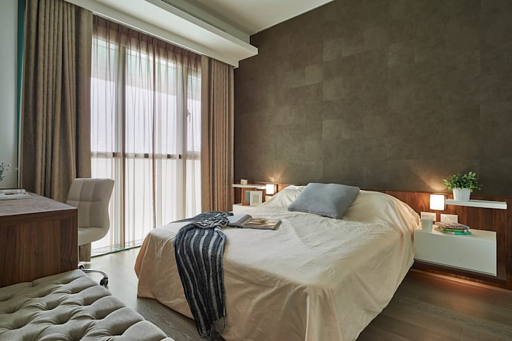 Bedroom by 舍子美學設計有限公司