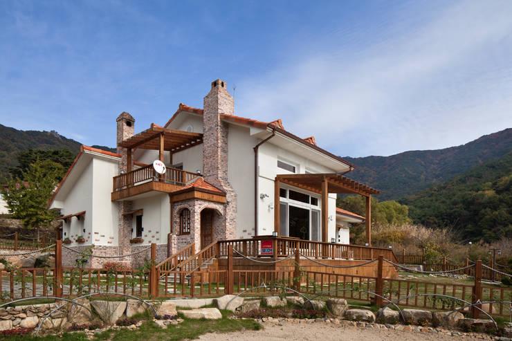 asian Houses by (주)에이도스건축사사무소