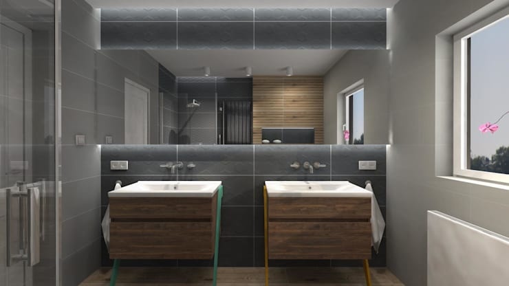 Phòng tắm by Icw Studio