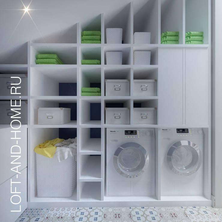 Vestidores y closets de estilo  por Loft&Home