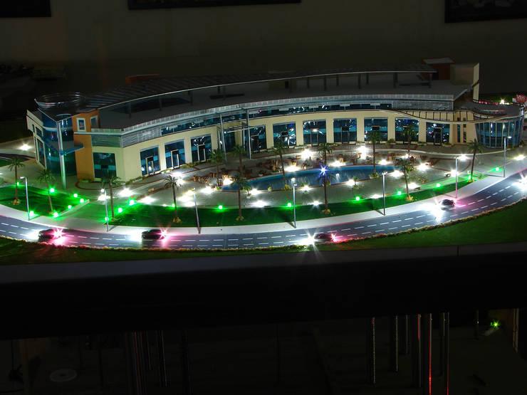 مجسم معماري (ماكيت ) ل Spot mall  في القاعرة الجديدة:   تنفيذ Touch-studios