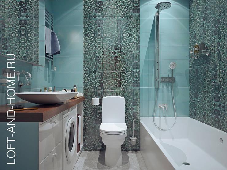 Projekty,  Łazienka zaprojektowane przez Loft&Home