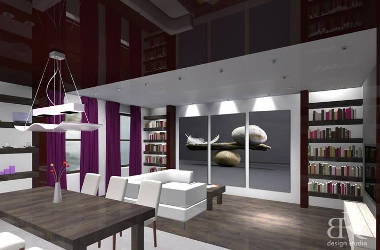 Apartament w stylu nowoczesnym: styl , w kategorii  zaprojektowany przez BR design studio