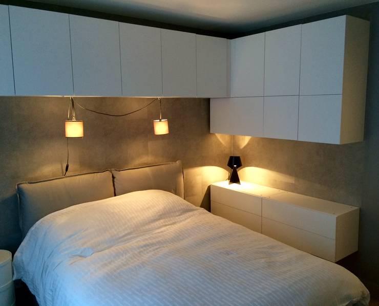Projekty,  Sypialnia zaprojektowane przez Pogonos