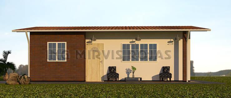 arquitectura peru: Casas de estilo  por Arquing3d,