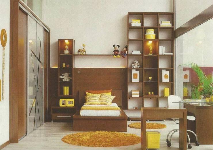 Projekty,  Sypialnia zaprojektowane przez Daniela Tolotti Arquitetura e Design
