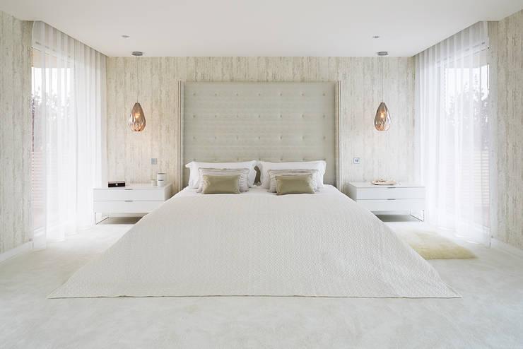 mediterranean Bedroom by niche pr
