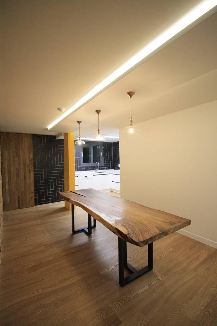 부천 중동 사랑마을/보람마을 : Old & New Interior의  주방