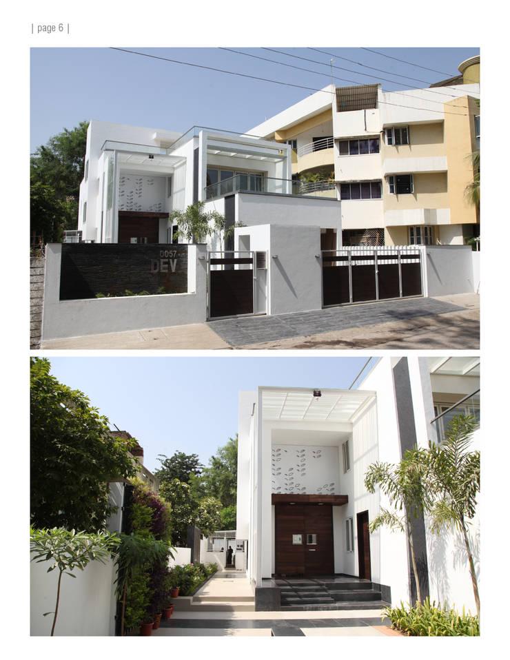 'E'—House: modern Houses by studioPERCEPT