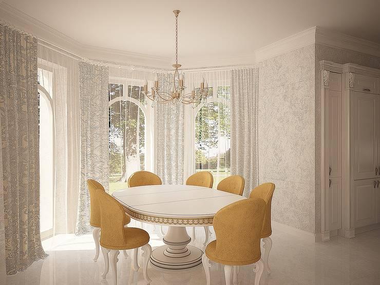 Столовая: Столовые комнаты в . Автор – anydesign, Классический