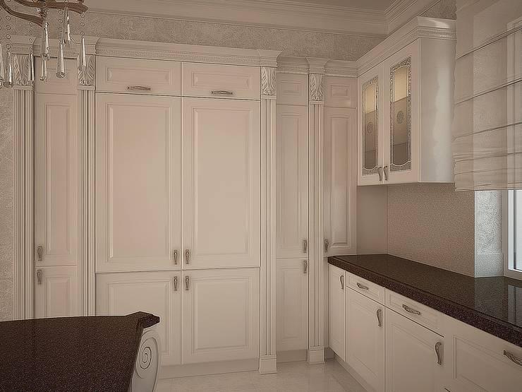 Оборудование: Кухни в . Автор – anydesign, Классический