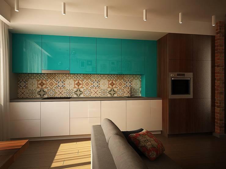 Кухня: Кухни в . Автор – anydesign, Эклектичный
