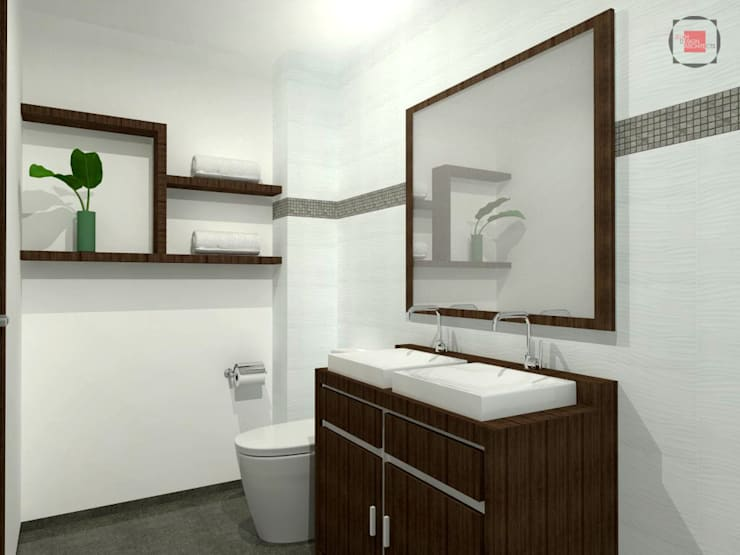 Bathroom by JELKH Design Architects s.a.s